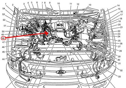 97 Ford F 150 4 6 Engine Diagram on ford explorer heater control valve