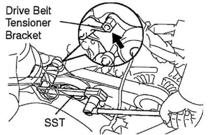 2007 Toyota Corolla Belt Diagram