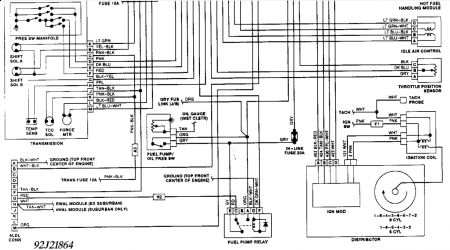 1992 gmc sierra fuel pump relay: electrical problem 1992 gmc, Wiring diagram