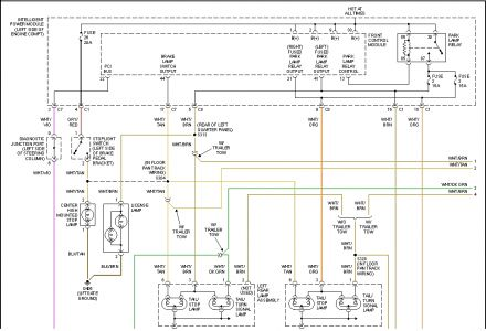 2001 chrysler town and country wiring electrical problem 2001 2003 Chrysler Voyager Wiring Diagram  2001 Chrysler 300M Door Speakers 2000 Chrysler 300M Wiring Diagram 2001 chrysler 300m radio wiring diagram