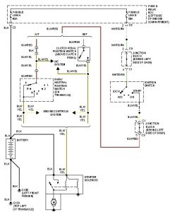 Geo Metro Alternator To Battery Wiring Diagram Wiring Diagram