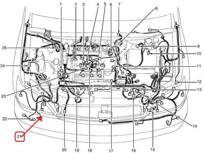 2002 Dodge Neon Removal Diagram also T4749895 Firing order grand cherokee as well I Need The Wiring Diagram For A 1999 Toyota Corolla besides Lexus Rx Radio Wiring Diagram in addition 2005 Ford Taurus Electrical Diagram. on 1998 toyota camry firing order