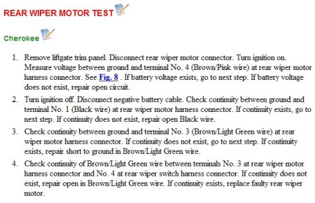 Jeep Cherokee Forum >> 2000 Jeep Cherokee Rear Washer: the Rear Wiper Does Not ...