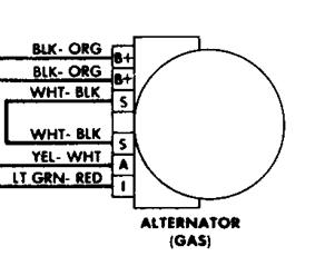 wiring diagram for alternator could you please tell me the wiring Ford 2G Alternator Identification Guide