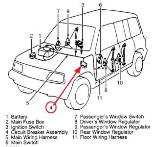 1997 suzuki sidekick power windows i have wiring diagram for the Chevy Tracker Wheels 1 reply