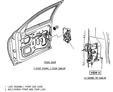 Type C Door Lock Wiring Diagram