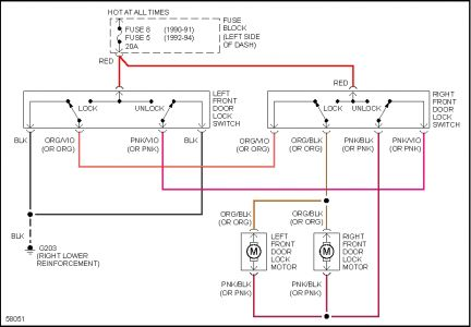 dodge dakota wiring diagram electrical problem dodge sorry about the delay my program was down for a bit here is the schematics for your vehicle s power door locks