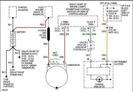 1999 chevy s 10 fusable link electrical problem 1999. Black Bedroom Furniture Sets. Home Design Ideas