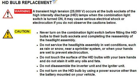 2004 Acura  on 2004 Acura Tsx Replacement Of Low Beam Bulb