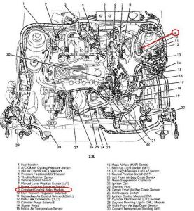 1994 Mercury Topaz Fuel Relay Switch: Electrical Problem ... on