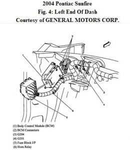 261618_Noname_369 2004 pontiac sunfire horn relay location electrical problem 2004 2001 pontiac sunfire fuse box diagram at bakdesigns.co