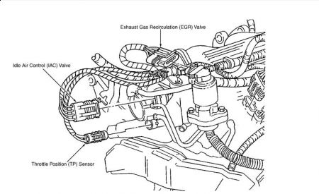 chevrolet lumina engine diagram 1999 chevy lumina egr valve: engine mechanical problem ...