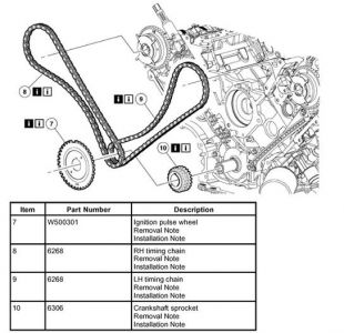 2004 ford f150 timing chain diagram engine mechanical problem 1 reply