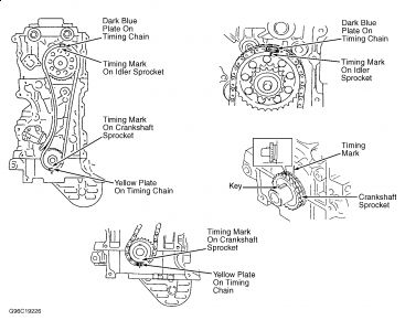 93 Toyota 22r Engine Timing Schematic on ford vacuum parts