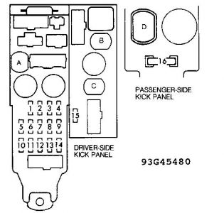 261618_inside_1 1991 toyota camry fuses electrical problem 1991 toyota camry 4 1993 toyota camry le fuse box diagram at edmiracle.co