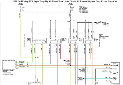 2001 Ford Truck Door Locks: I Have a Problem with the ... F Door Lock Wiring Diagram on