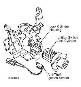 1997 ford thunderbird theft system car alarm electrical problem 5 Pin Relay Diagram 2carpros forum automotive pictures 266999 2 5