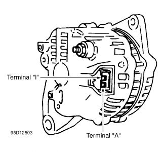 1995 Ford Escort Alternator Problems: My Car d Last Week ...  Ford Alternator Wiring Diagram on