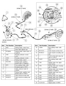 2005 ford escape emergency brake: my emergency brake doesn ... 2005 ford escape brake diagram