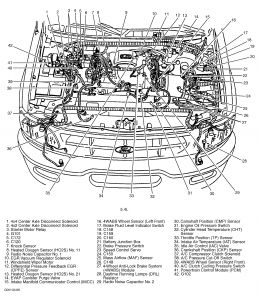T12781614 2001 montero egr solenoid located moreover Pictures Of Hoses In 2000 Chrysler 300m Motor also T19758280 2004 ford explorer egr vacuum tube also Chevrolet Engine Vacuum Routing Diagrams furthermore Ford Expedition 2005 Ford Expedition Can You Help With Pcv Location. on 5 4l vacuum hose routing diagram