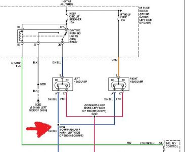 1998 Chevy Silverado Headlight Switch Wiring Diagram 1998 Chevrolet