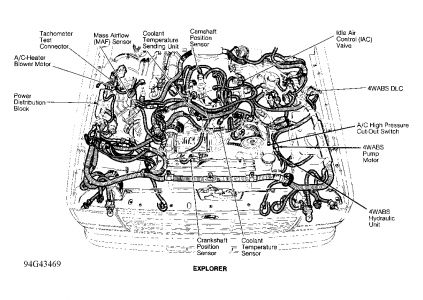 95 Ford Explorer Engine Diagram on 1988 ford bronco fuel pump relay location
