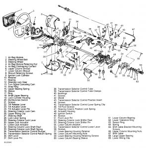 Ford F 150 1993 Ford F150 993 Ford F 150 Steering Column on ignition switch wiring diagram