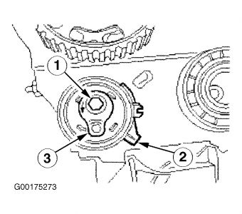 Con on 1998 Ford Contour Timing Marks