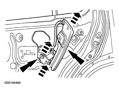 ford window regulator replacement procedure