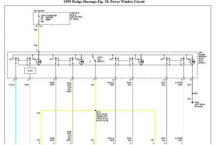 1999 Dodge Durango Electric Windows Electrical Problem