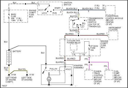 1997 ford escort wiring diagram  description wiring