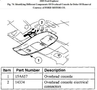 overhead console wiring diagram on