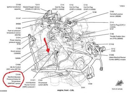 2011 ford f 150 wiring schematic with Map Sensor Location Ford Fiesta on T9869180 E150 ford 4 9l motor water furthermore Nissan An 7 Pin Wiring Diagram as well 32154 Gen Light together with Radiator Hose Diagram For 2000 Ford F150 moreover Viewtopic.