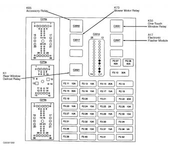 266999_fuse2_2 05 ford taurus fuse diagram wiring diagram simonand ford taurus 2002 fuse box diagram at gsmx.co