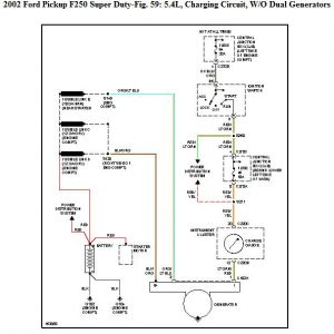 1976 ford f 250 alternator wiring 2002 ford f250 not charging: electrical problem 2002 ford ... 2006 ford f 250 alternator wiring diagram