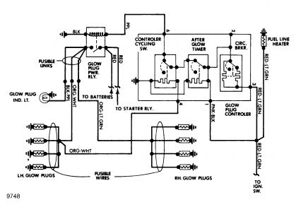 1986 Ford F250 Diesel Electrical Problem 1986 Ford F250 V8 Four – Diesel Glow Plug Wiring Diagram