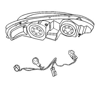 Pontiac Grand Am Headlight Wiring Diagram on 2007 chevy express radio wiring diagram