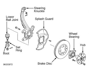 1996 Honda Accord Front Rotors You Sent Me A Diagram Of