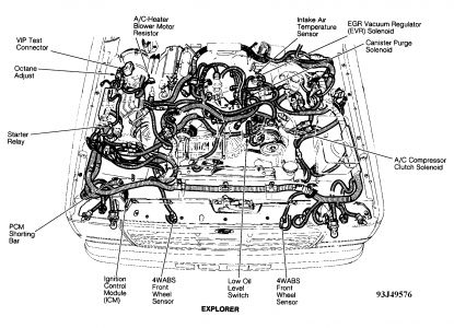 Ford Explorer 1993 Ford Explorer Iac Motor Location on volume control wiring diagram