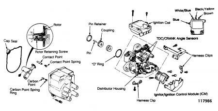 1992 Acura Integra Motor