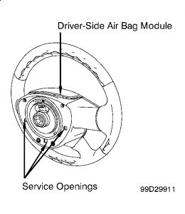 airbag removal steering problem 6 cyl all wheel drive. Black Bedroom Furniture Sets. Home Design Ideas