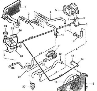2001 land rover discovery 2 leaks: engine cooling problem ... 2001 range rover engine diagram 96 range rover engine diagram