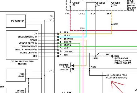 Wiring Diagram For Brake Switch Connector For A 1998 Chevy Silverado ...