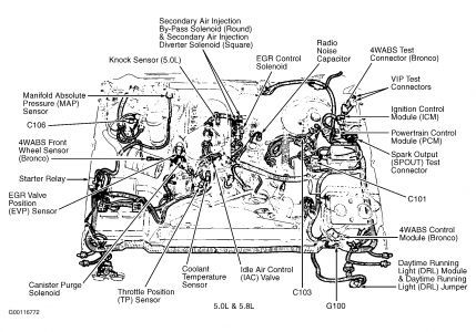 Pcm on 2001 Ford Escape Water Pump Belt Diagram