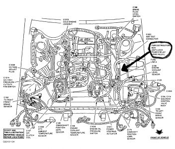 ford 150 4 6l engine diagram 1997 ford thunderbird: electrical problem 1997 ford ...