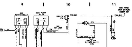 266999_pump_8 fuel pump circuit? electrical problem 1988 ford ranger 6 cyl two 1988 ford ranger fuel pump wiring diagram at crackthecode.co