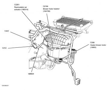 2002 Ford Focus Ac Diagram on 2005 Ford Focus Heater Blower Resistor Fuse