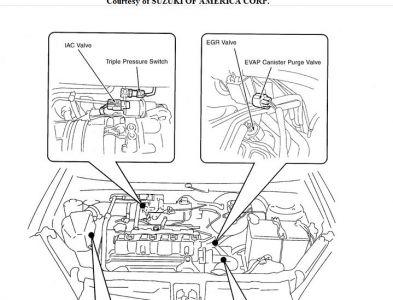 2003 suzuki aerio 2003 suzuki aerio where is the egr valve2003 Suzuki Aerio Engine Diagram #5