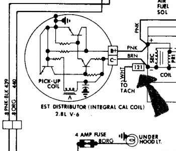 266999_tach2_2 1984 gmc s15 tachometer electrical problem 1984 gmc s15 6 cyl pontiac hood tach wiring diagram at edmiracle.co