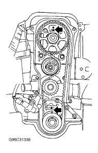 2001 Ford Fiesta Drive Belt Engine Mechanical Problem